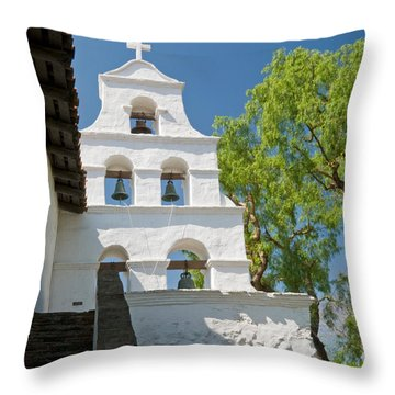 Mission Bells Throw Pillow