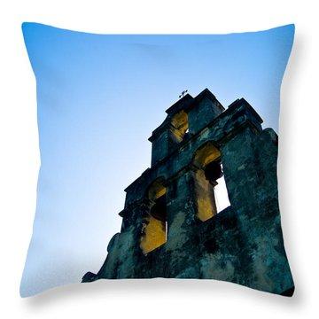 Mission Espada Throw Pillow
