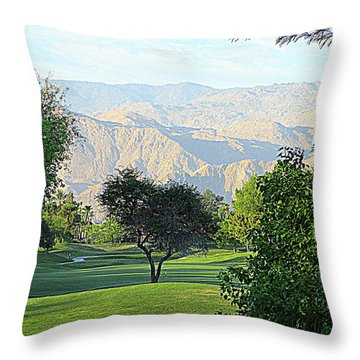 Mission Hills Golf Throw Pillow