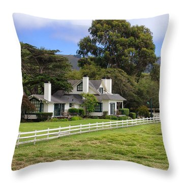 Mission Ranch - Carmel California Throw Pillow by Glenn McCarthy Art and Photography