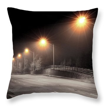 Mission Road Throw Pillow