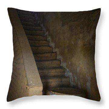 Mission San Antonio De Padua Jolon Ca Throw Pillow