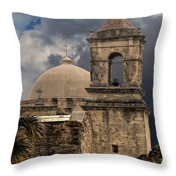 Mission San Jose II Throw Pillow