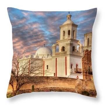 Mission San Xavier Del Bac 2 Throw Pillow