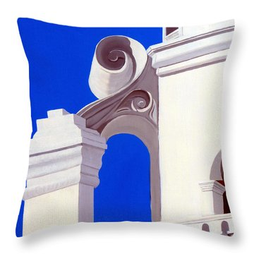 Mission San Xavier Del Bac Throw Pillow