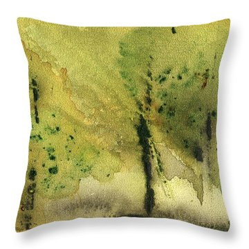 Mist And Morning Throw Pillow