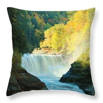 Misty 2 Throw Pillow by Kathleen Struckle