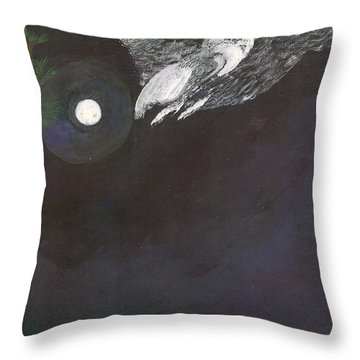 Misty Twinight Throw Pillow