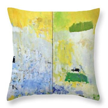 Mitchell's Salut Tom Throw Pillow by Cora Wandel