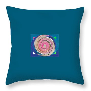Mixed Throw Pillow by Catherine Lott