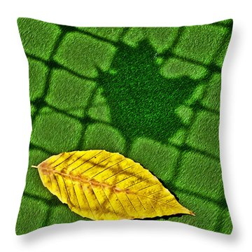 Mixed Double Throw Pillow