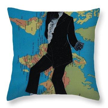 Mj Billie Jean Throw Pillow