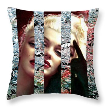Mm 128 Sis 4 Throw Pillow