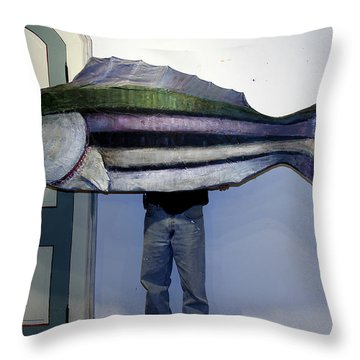 Mm005 Throw Pillow