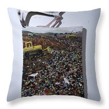 Mm010 Throw Pillow