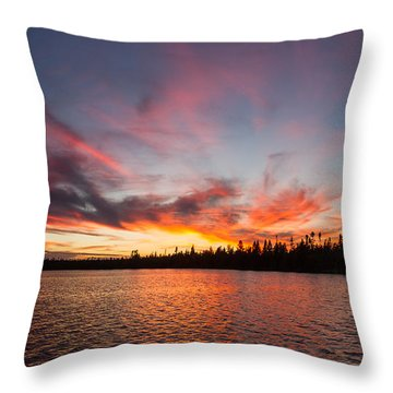 Mn Sunset Symphony Throw Pillow