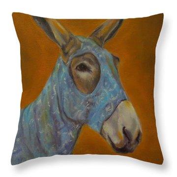Mo Vision,donkey Throw Pillow
