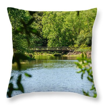 Mobile Al Throw Pillow