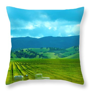 Mobile Transport Throw Pillow