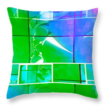 Mod 017 Throw Pillow by Aurelio Zucco