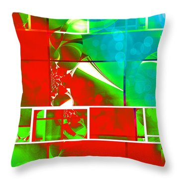 Mod 018 Throw Pillow by Aurelio Zucco
