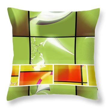 Mod 001 Throw Pillow by Aurelio Zucco