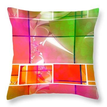 Mod 002 Throw Pillow by Aurelio Zucco