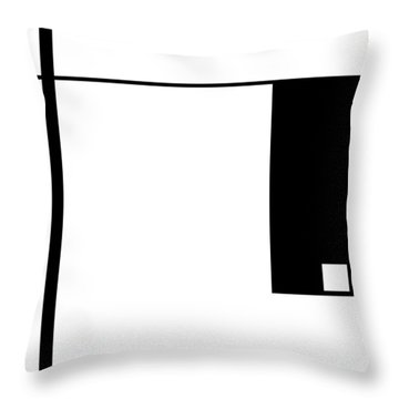 Moda 1 - Modern Art By Sharon Cummings Throw Pillow by Sharon Cummings