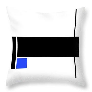 Moda 5 - Modern Art By Sharon Cummings Throw Pillow by Sharon Cummings