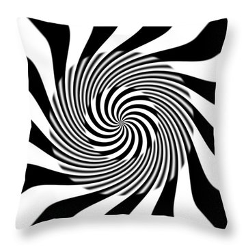 Model Bw 3.1415 Throw Pillow