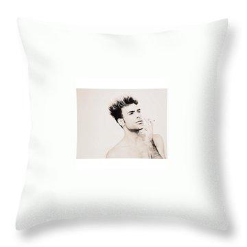 Model Throw Pillows