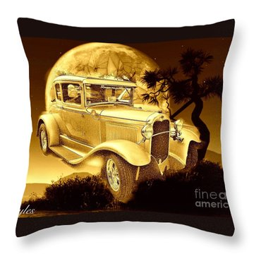 Model T Fantasy  Throw Pillow