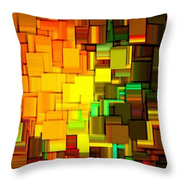 Modern Abstract IIi Throw Pillow by Lourry Legarde