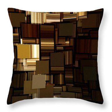 Modern Abstract Iv Throw Pillow by Lourry Legarde