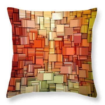 Modern Abstract Viii Throw Pillow by Lourry Legarde
