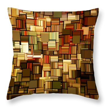 Modern Abstract Xxiii Throw Pillow by Lourry Legarde