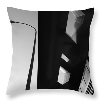 Throw Pillow featuring the photograph Modern Architecture by Craig B