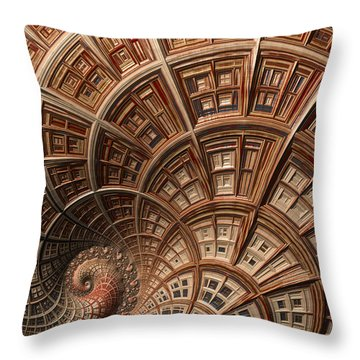 Modern Architecture  Throw Pillow by Heidi Smith