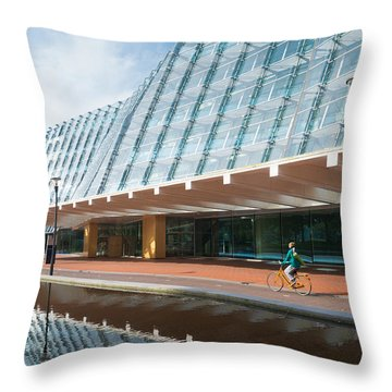 Modern Architecture In Amersfoort Netherlands Throw Pillow by Hans Engbers