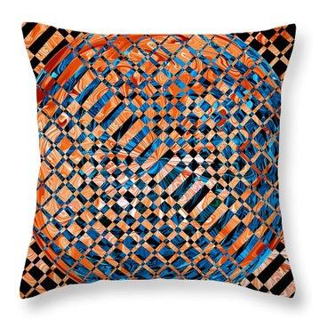 Modern Art Iv Throw Pillow