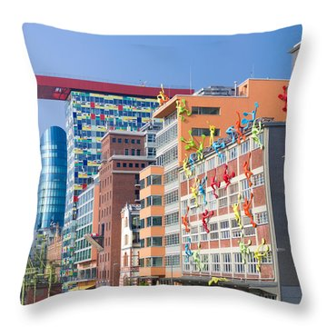 Modern Buildings Exterior Throw Pillow by Hans Engbers