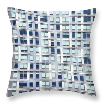 Modern Condo Building Throw Pillow by Valentino Visentini