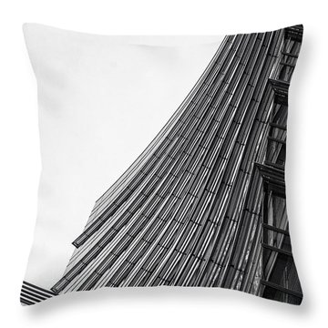 Modern Curves Throw Pillow by Alfio Finocchiaro
