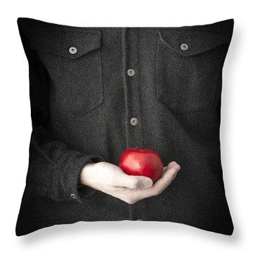 Modern Day Adam Throw Pillow