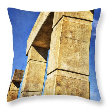 Modern Forum Throw Pillow by Joan Carroll