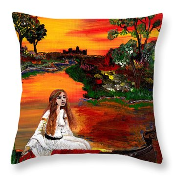 Modern Myth  Throw Pillow by Mark Moore