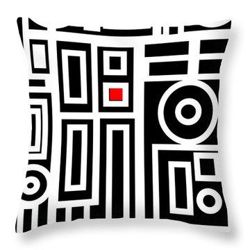 Modern Vibe 7 Throw Pillow