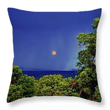 Mogollon Moon Throw Pillow