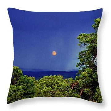 Mogollon Moon Throw Pillow