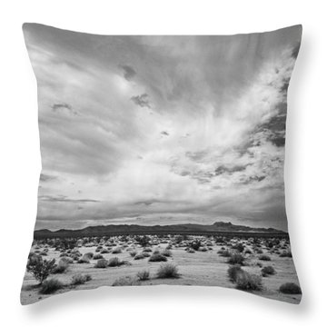 Mojave National Preserve Throw Pillow by Mike Herdering